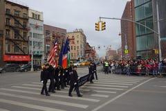 La célébration chinoise de la nouvelle année 2014 dans NYC 89 Images libres de droits