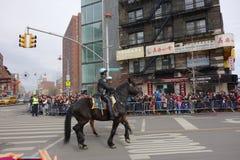 La célébration chinoise de la nouvelle année 2014 dans NYC 86 Photos stock