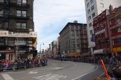 La célébration chinoise de la nouvelle année 2014 dans NYC 85 Images stock