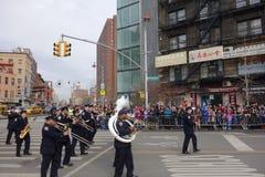 La célébration chinoise de la nouvelle année 2014 dans NYC 83 Photographie stock libre de droits