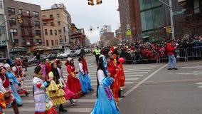 La célébration chinoise de la nouvelle année 2014 dans NYC 39 Photo stock