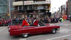 La célébration chinoise de la nouvelle année 2014 dans NYC 42 Images stock