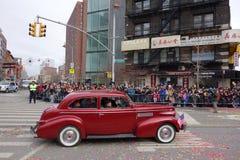 La célébration chinoise de la nouvelle année 2014 dans NYC 44 Photographie stock libre de droits