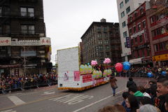 La célébration chinoise de la nouvelle année 2014 dans NYC 59 Photo libre de droits