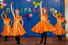 La célébration du jour de mère dans la région de Kaluga (Russie) le 29 novembre 2015 photo stock
