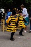 La célébration du jour du miel dans la ville russe de Medyn, région de Kaluga le 14 août 2016 photographie stock libre de droits