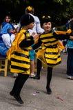 La célébration du jour du miel dans la ville russe de Medyn, région de Kaluga le 14 août 2016 photo stock