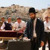La célébration juive de Pesach (pâque) Photo libre de droits