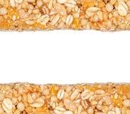 La céréale barre le cadre Image libre de droits