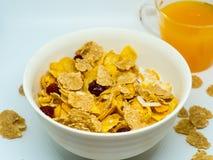 La céréale de petit déjeuner images libres de droits