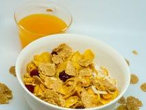 La céréale de petit déjeuner Photo stock