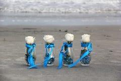 La cérémonie de mariage fleurit le décor Image libre de droits