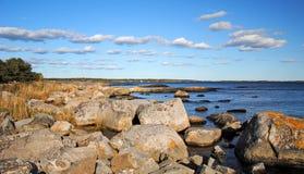 La côte Images stock