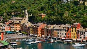 La côte colorée dans Portofino, Italie images stock