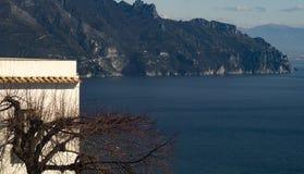 La côte d'Amalfi photos libres de droits