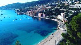 La Côte d'Azur image libre de droits