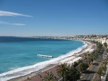 La Côte d'Azur - places célèbres photo stock