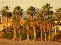 La côte de Benicasim dans Castellon, Valence Image stock