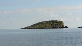 La côte de DES Canar dans Ibiza banque de vidéos