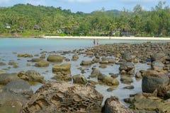 La côte de l'île de Koh Kood Photos libres de droits
