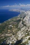 La côte de la Dalmatie Photographie stock libre de droits