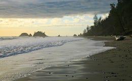 La côte de Washington Images stock