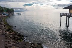 La côte du singaraja Photographie stock libre de droits