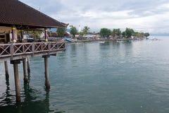 La côte du singaraja Photo stock