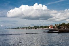 La côte du singaraja Images stock