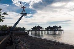 La côte du singaraja images libres de droits