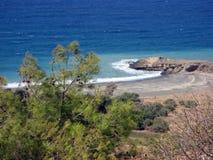 La côte Image libre de droits