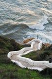 La côte d'Algarve Photographie stock