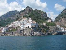 La côte d'Amalfi Photographie stock libre de droits