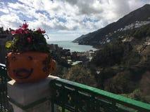 La côte d'Amalfi Photo stock