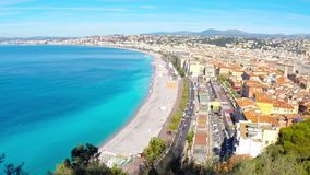 La Côte d'Azur agréable et banque de vidéos