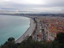 La Côte d'Azur, France Image libre de droits