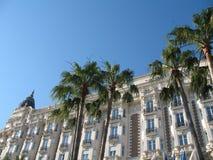 La Côte d'Azur - places célèbres Images libres de droits