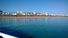 La côte de Brighton photos stock