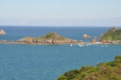 La c?te de Brittany images libres de droits