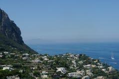 La côte de Capri Image libre de droits