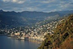 La côte de Gênes photo libre de droits