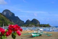 La côte de l'EL Nido photographie stock libre de droits