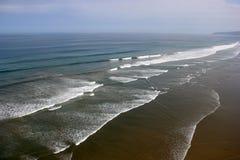 La côte de l'océan Photographie stock libre de droits