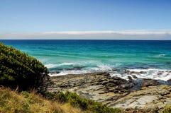 La côte de l'océan pacifique image libre de droits