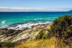La côte de l'océan pacifique Photographie stock libre de droits