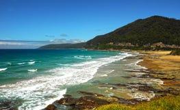 La côte de l'océan pacifique Photos libres de droits
