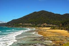 La côte de l'océan pacifique images stock