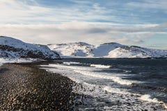 La c?te de l'oc?an arctique, photographie stock libre de droits