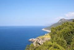La côte de la mer Méditerranée Photographie stock
