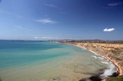 La côte de la Mer Noire Photos libres de droits